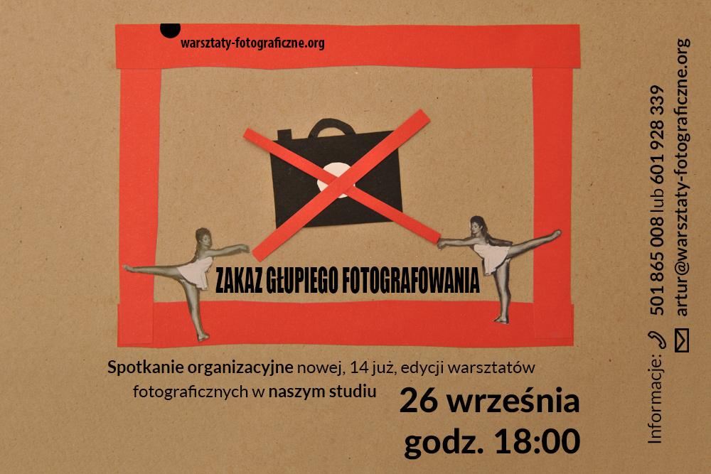 Ilustracja do wpisu o nowej edycji warsztatów fotograficznych w Katowicach